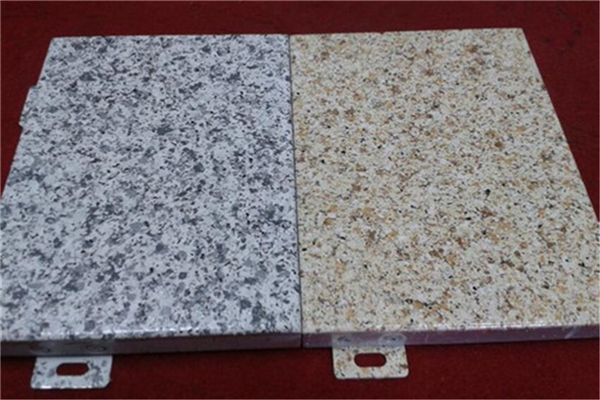 2mm石纹铝单板厂家订制
